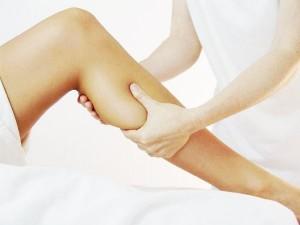 массаж икроножной мышцы