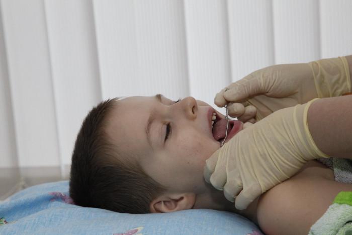 Массаж лица ребенку фото